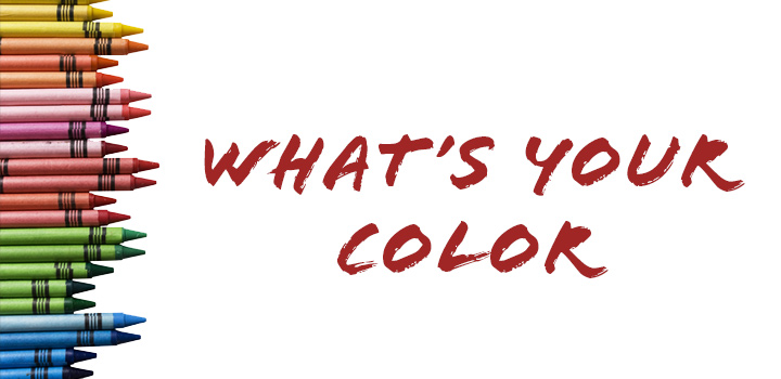 Color Crayons - What's Your Color